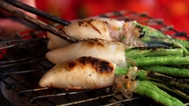 Chargrilled stuffed squid recipe