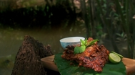 Chargrilled coconut mouse or quail recipe