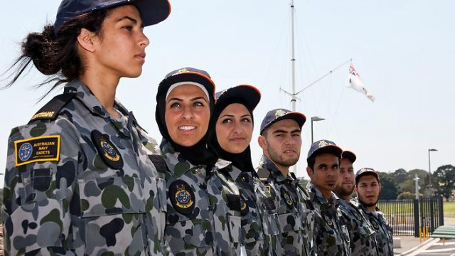 Female soldiers australia
