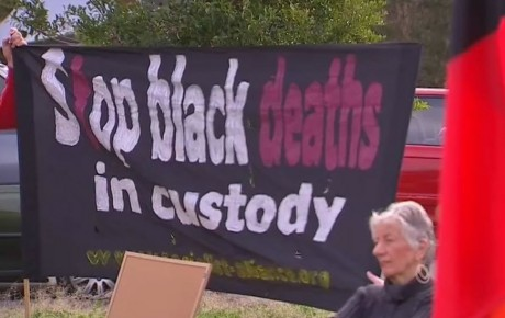 Sydney protest marks anniversary of Dhu's death in custody