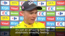 TDF 2017: Chris Froome Interview