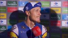 La Vuelta 2017: Trentin interview