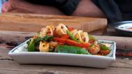 Wok-tossed squid with kampot pepper recipe