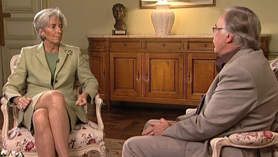 Interview with Christine Lagarde | SBS News